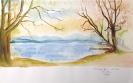Kühler Morgen am Starnberger See